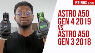 Astro A50 Gen 4 2019 vs A50 Gen 3 2017 Gaming Headphones Review - RTINGS.com
