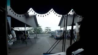 MOMEN LANGKA!!! Naik Bus Keliling Garasi Sumber Group
