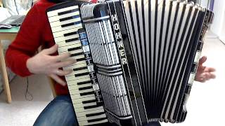 Swingende Harmonika- Test auf Hohner Morino VM Musik Band Trio DIE TURBOS