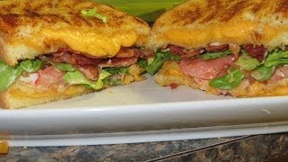 How To Make The Ultimate Grilled Cheese Blt Sandwich!