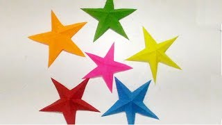 paper star making | Paper star | origami star | origami star easy | how to make paper star