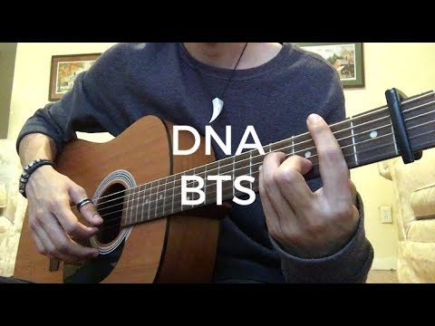 BTS (방탄소년단) 'DNA' (Guitar Cover) [EASY CHORDS]