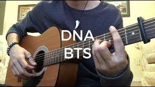BTS (방탄소년단) 'DNA' (Guitar Cover) [EASY CHORDS]