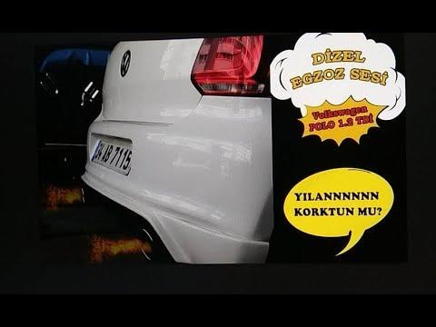 Volkswagen Polo 6r 1.2 Tdi, Vw Dizel Egzoz Sesi ve Body kit