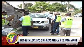 TVJ News: Dengue Alert | 9 yr Old Girl Reportedly Dies from Virus - October 6 2019