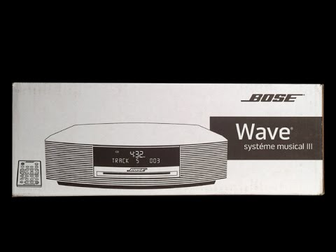 Bose Wave Music System III Unbox, Quick Look & Listen ! WOW!!