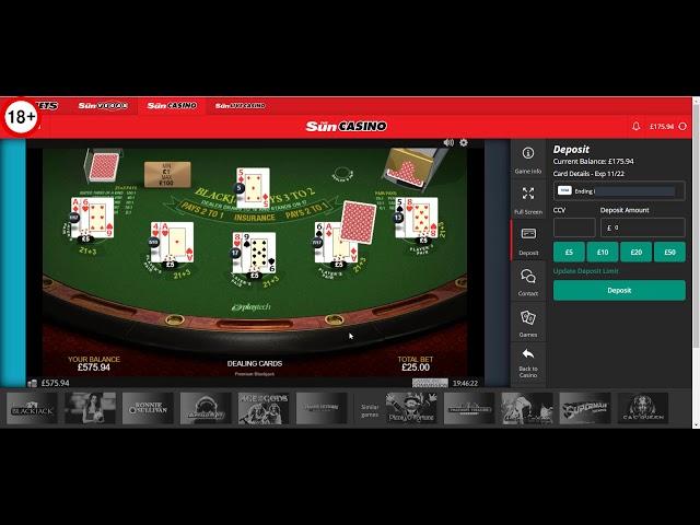 Online Blackjack - Big Win or Big Loss