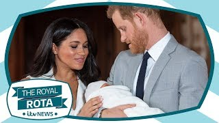Royal baby special: We speak to only reporter to interview Harry and Meghan about Archie | ITV News