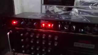 Cách đấu máy nâng tiếng hát với âm ly có cầu chữ U cho tiếng nhạc sáng.(âm thanh xịn:0336283288)
