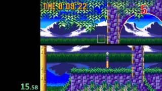 Sonic 3 - Competition Mode Speedrun in 2:07 (1:26:66 IGT)