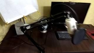 Кронштейн с Aliexpress для Blue Microphones Yeti + Поп Фильтр