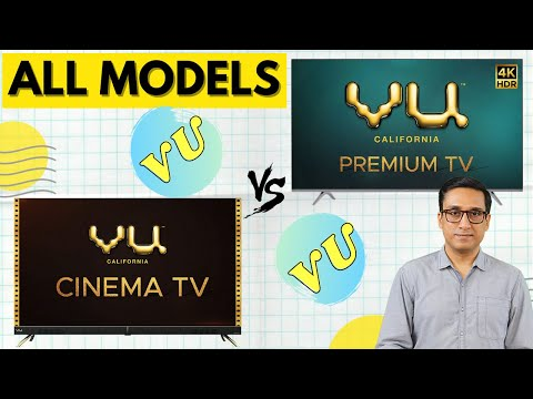 VU Premium 4K TV 2020 vs VU Cinema TV ⚡⚡ DETAILED COMPARISON 🔥 TechTalk 57