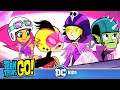 Teen Titans Go! KARAOKE | The Night Begins To Shine | DC Kids