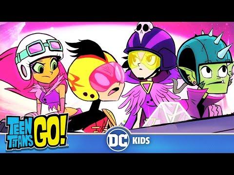 Teen Titans Go! KARAOKE | The Night Begins To Shine | DC Kids