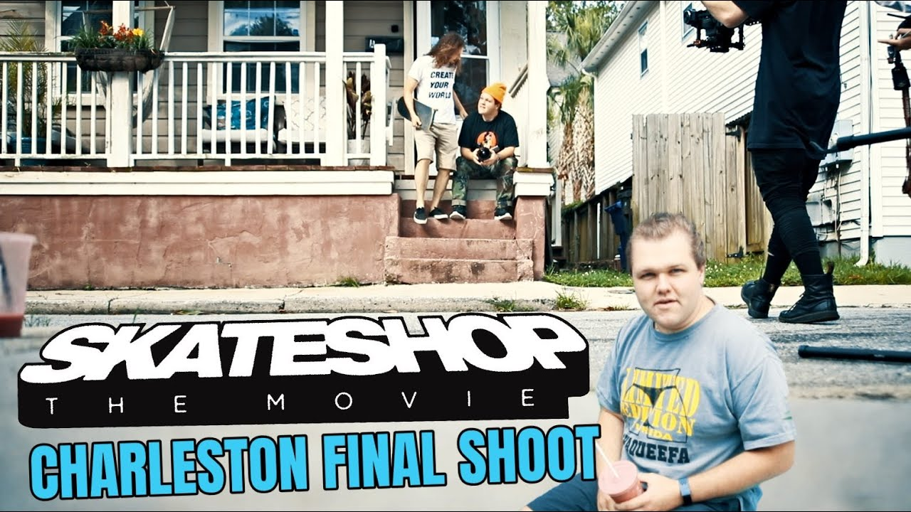 Skateshop the Movie (Behind the Scenes) Charleston Final Shoot!
