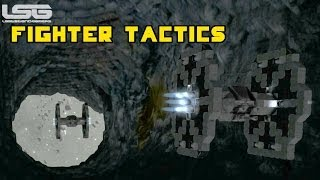 Space Engineers - Fighter Pilot Tips & Tactics, Nowhere To Run Dogfights