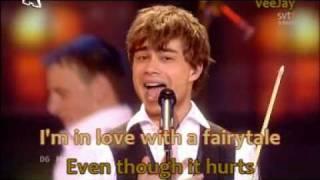 Alexander Rybak Fairytale (Eurovision 2009 winner) karaoke by veeJay