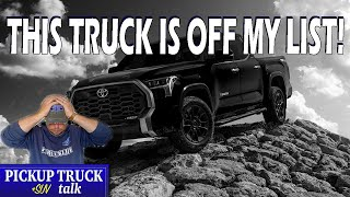 I Can't Buy A Toyota Tundra? Here Is What I'm Going To Buy Instead!