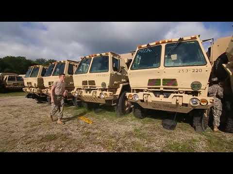 NJ Army National Guard Prepares For Florida