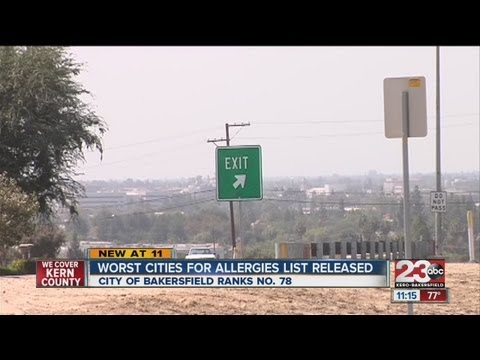Worst Cities For Allergies List Released