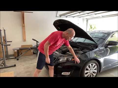 2014 Kia Optima – How to remove the front bumper