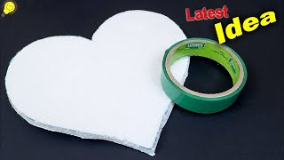 DIY Heart Shaped Wall Decor Showpiece using Paper || Handmade Craft