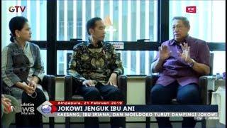 Jokowi dan Iriana Ditemani Kaesang Pangarep Jenguk Ibu Ani di Singapura - BIM 21/02