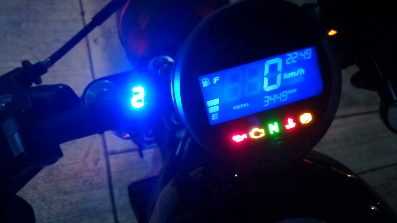 gear position indicator   honda rebel   cmx cmx youtube