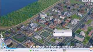 SimCity 5 BETA 37,000 sims Ultimate City #1