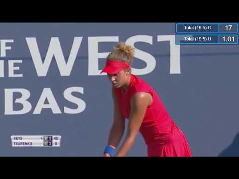 Madison Keys vs Lesia Tsurenko | Highlights WTA Stanford 2017