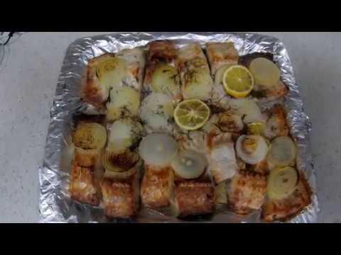 Как приготовить рыбу в духовке. Белый амур