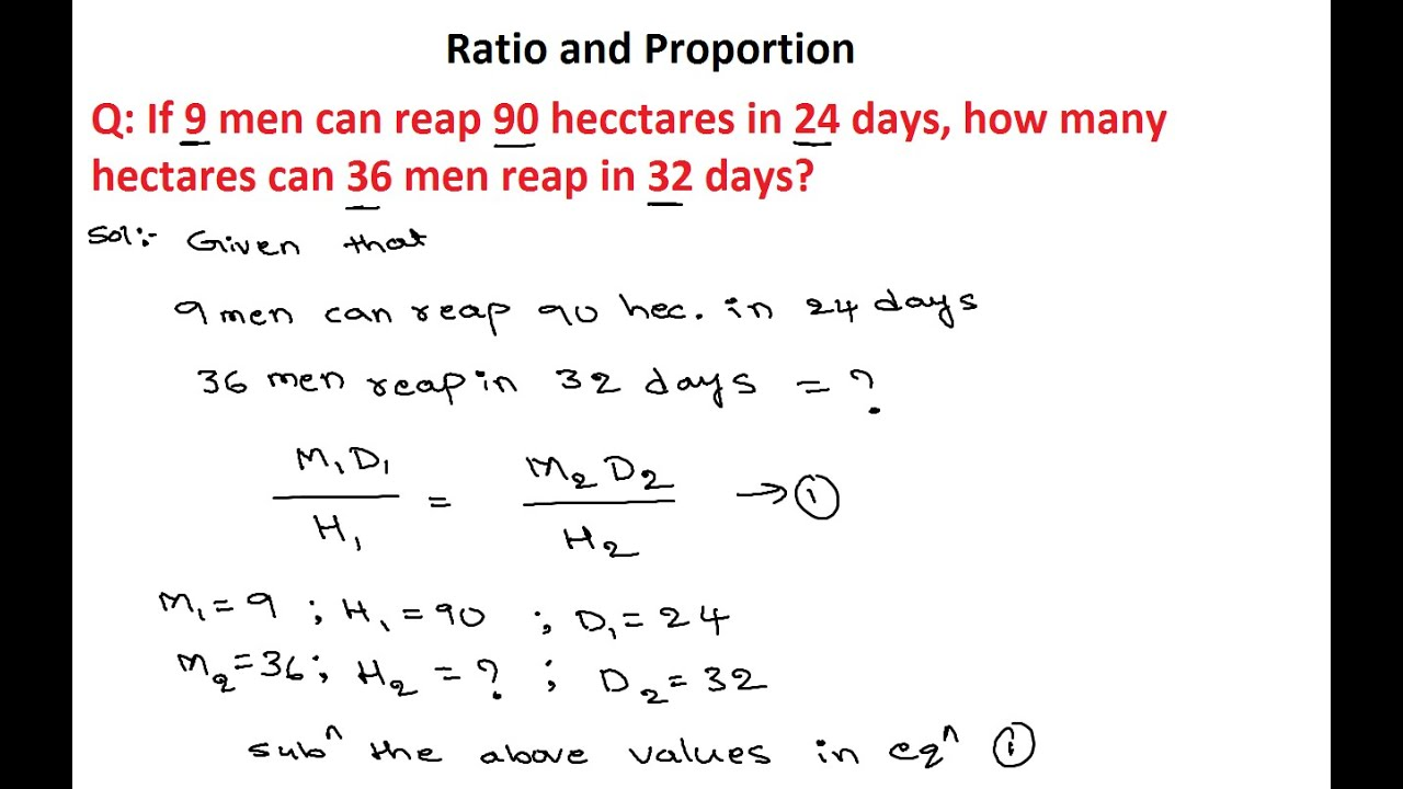 Ratio And Proportion 1 Numerical Ability Ratio And