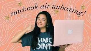macbook air unboxing 2019!