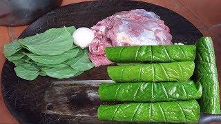 Chả Lá Lốt Thịt Ngựa Của Anh Chàng Miền Núi Lạng Sơn I Thai Lạng Sơn