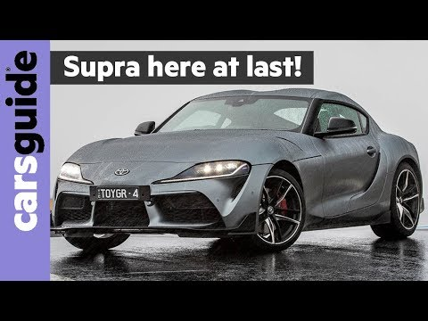 Toyota Supra 2020 Review