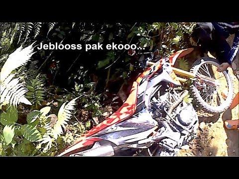 CRF150L hampir masuk jurang cisadon - CRF Jakarta Adventure Club