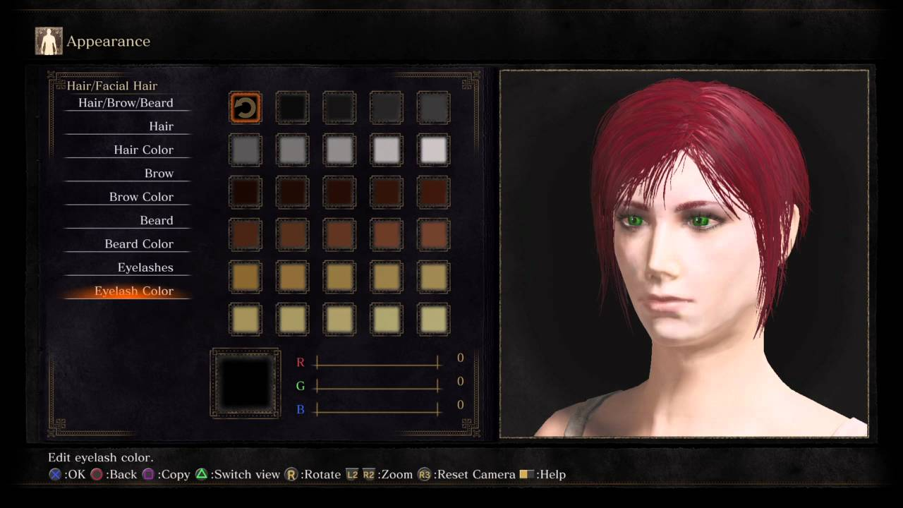 how to make a blonde dark souls 3 char
