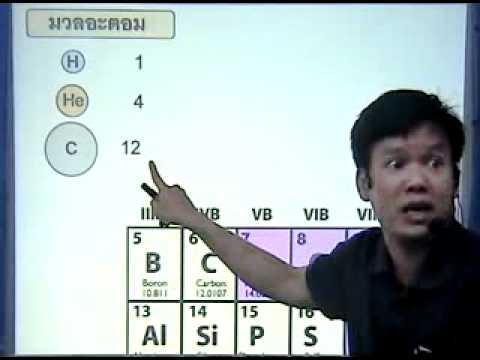 ติว chem04ปริมาณสารสัมพันธ์ มวลอะตอม1.1