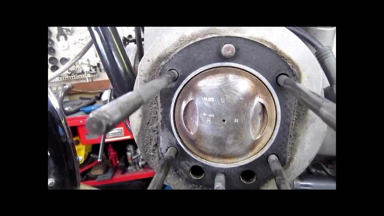 BMW Service - Airhead BMW Piston Size - YouTube