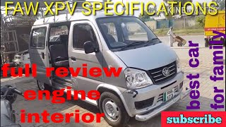 faw XPV EURO 4 1.0L full review in urdu