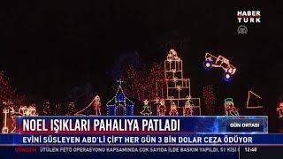 Noel ışıkları pahalıya patladı