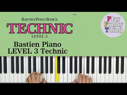 lion-chase-(p.6)---bastien-piano-basics-level-3---technic