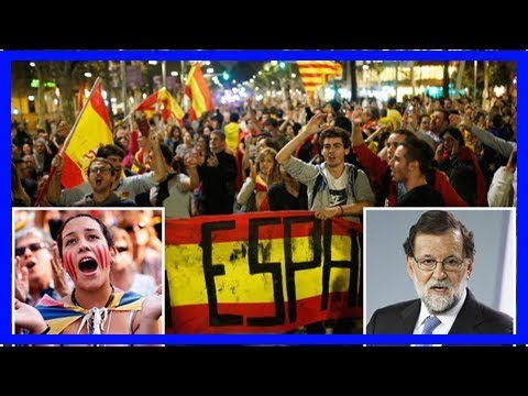 Spain faces being ripped apart as violence erupts in barcelona after catalonia declares independenc