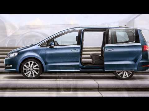 2015 volkswagen sharan facelift revealed geneva motor. Black Bedroom Furniture Sets. Home Design Ideas