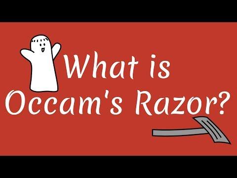 What is Occam's Razor?