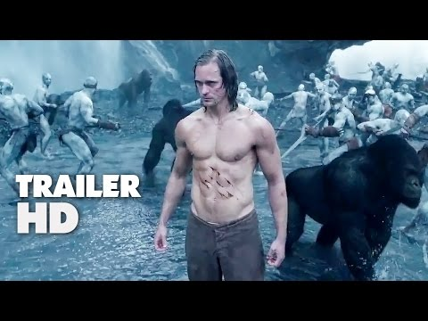 The Legend Of Tarzan - Official Film Trailer 2016 - Margot Robbie Movie HD