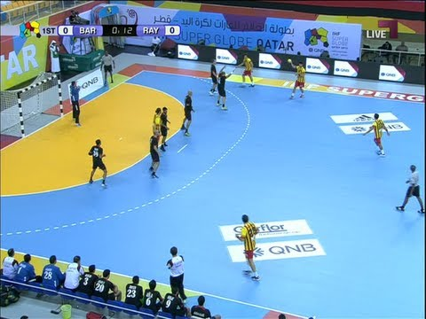 Rayen vs Barcelona handball Super Globe recorded by me