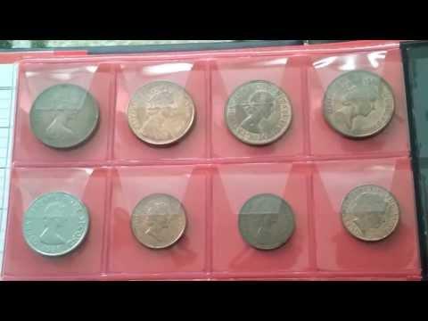 Коллекция монет с Елизаветой 2