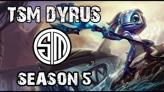 TSM Dyrus Fizz vs Irelia TOP Ranked Challenger NA