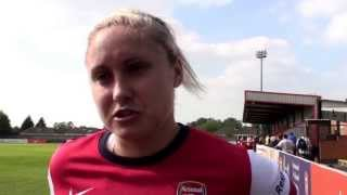 WFD - Full Time Thoughts 2013 Ft. Steph Houghton. Arsenal Ladies F.C FAWSL